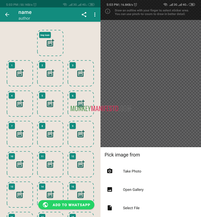 how to create your own whatsapp sticker