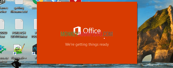 office is ready to install onenote 2016