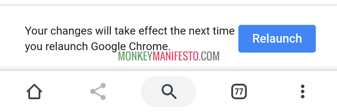 dark mode in android for chrome