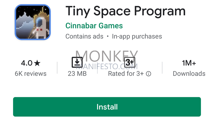 tiny space program idle game android