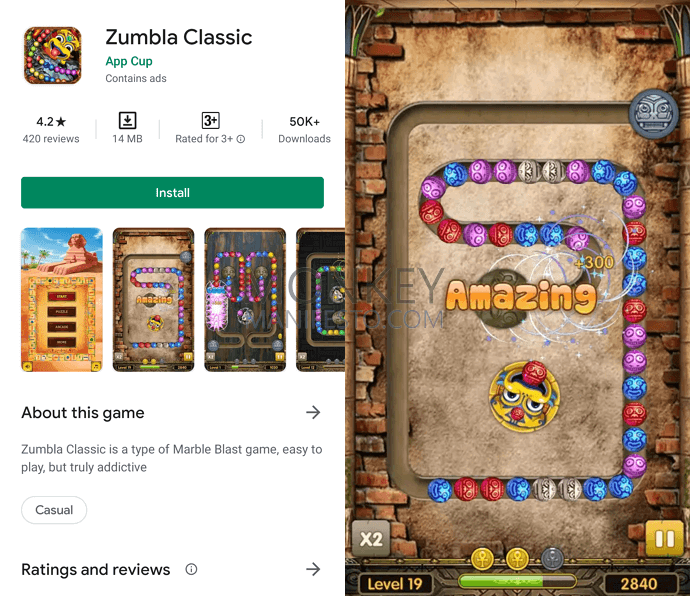 best zuma game android