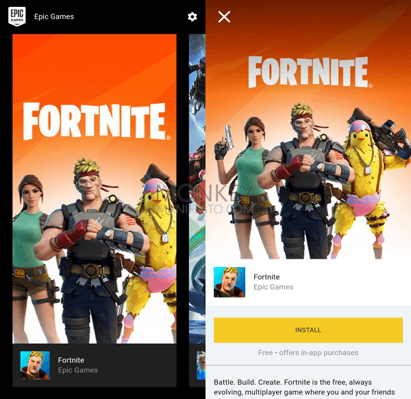 how to get fortnite on android iphone
